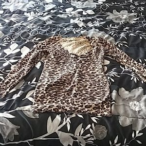 Forever 21 Leopard 🐆long sleeve